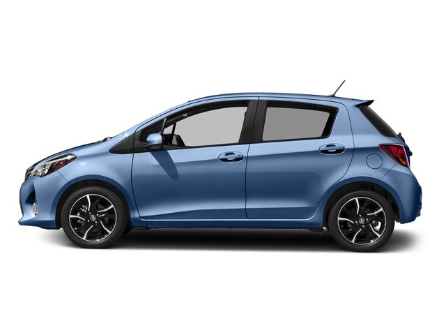 Waveline Pearl 2017 Toyota Yaris Pictures Yaris Hatchback 5D SE I4 photos side view