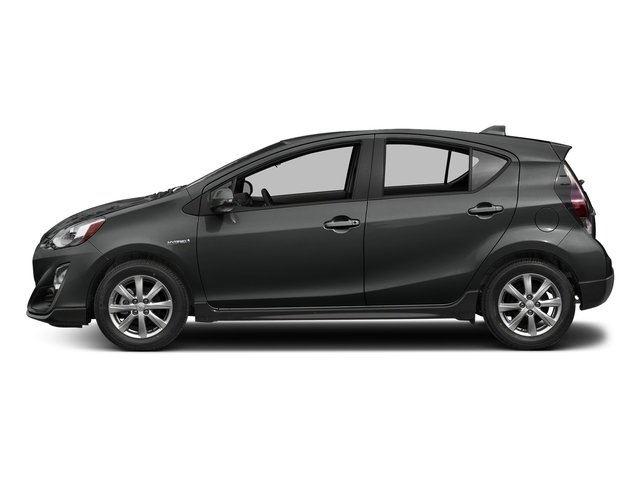 Magnetic Gray Metallic 2017 Toyota Prius c Pictures Prius c Liftback 5D c Four I4 Hybrid photos side view