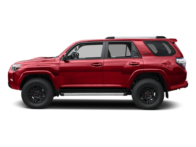 Barcelona Red Metallic 2017 Toyota 4Runner Pictures 4Runner Utility 4D TRD Pro 4WD V6 photos side view