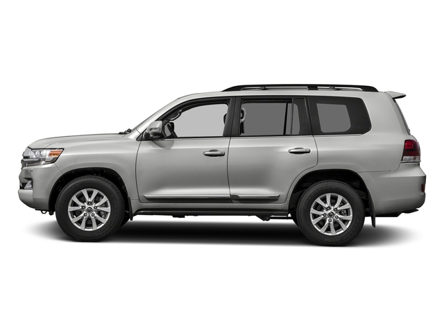 Classic Silver Metallic 2017 Toyota Land Cruiser Pictures Land Cruiser Utility 4D 4WD V8 photos side view