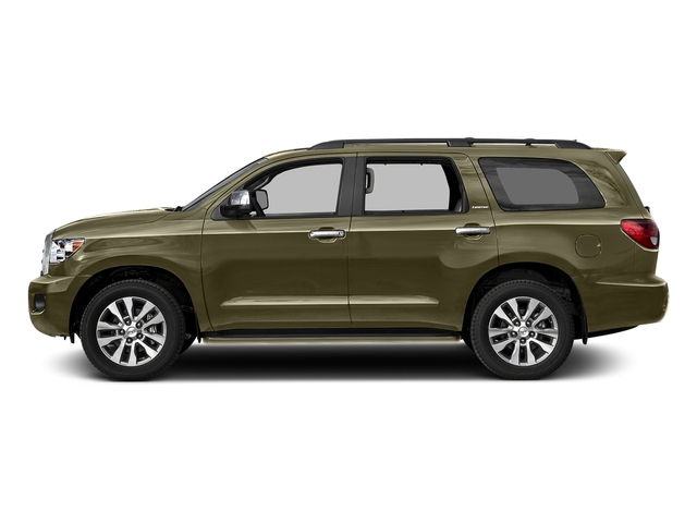 Pyrite Mica 2017 Toyota Sequoia Pictures Sequoia Utility 4D Limited 2WD V8 photos side view