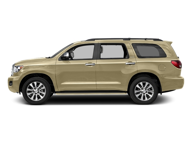 Sandy Beach Metallic 2017 Toyota Sequoia Pictures Sequoia Utility 4D Limited 2WD V8 photos side view