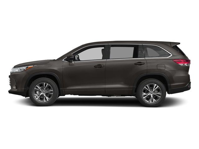 Predawn Gray Mica 2017 Toyota Highlander Pictures Highlander Utility 4D LE 4WD V6 photos side view