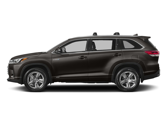 Predawn Gray Mica 2017 Toyota Highlander Pictures Highlander Utility 4D LE 4WD V6 Hybrid photos side view