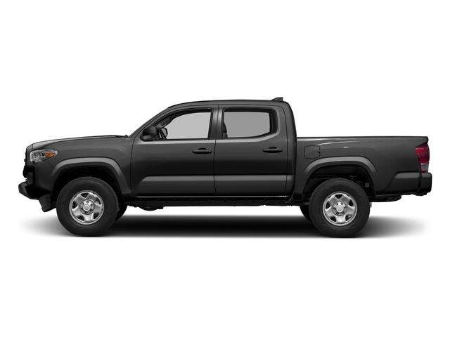 Magnetic Gray Metallic 2017 Toyota Tacoma Pictures Tacoma SR Crew Cab 4WD V6 photos side view