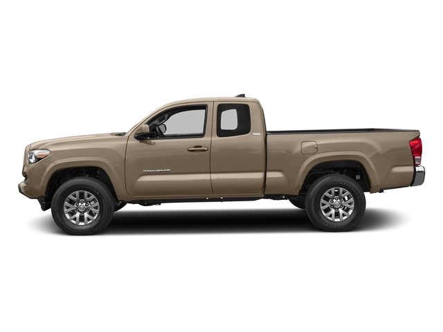 Quicksand 2017 Toyota Tacoma Pictures Tacoma SR5 Extended Cab 2WD V6 photos side view