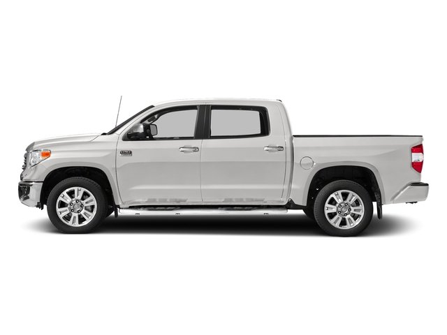 Super White 2017 Toyota Tundra 2WD Pictures Tundra 2WD 1794 Edition CrewMax 2WD photos side view