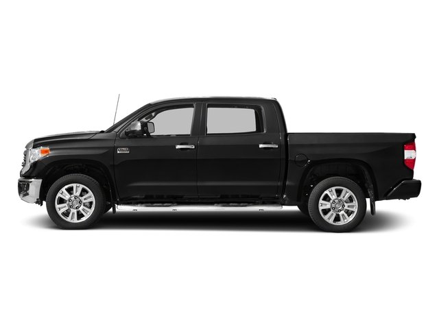 Midnight Black Metallic 2017 Toyota Tundra 2WD Pictures Tundra 2WD 1794 Edition CrewMax 2WD photos side view