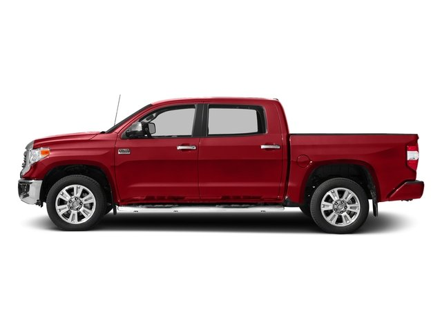 Barcelona Red Metallic 2017 Toyota Tundra 2WD Pictures Tundra 2WD 1794 Edition CrewMax 2WD photos side view