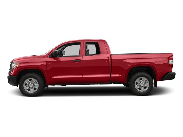 Barcelona Red Metallic 2017 Toyota Tundra 2WD Pictures Tundra 2WD SR Double Cab 2WD photos side view