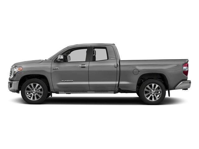 Silver Sky Metallic 2017 Toyota Tundra 2WD Pictures Tundra 2WD Limited Double Cab 2WD photos side view