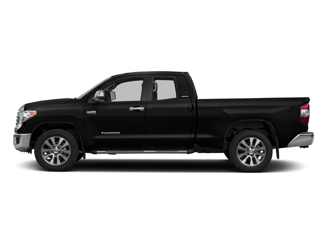 Midnight Black Metallic 2017 Toyota Tundra 2WD Pictures Tundra 2WD Limited Double Cab 2WD photos side view