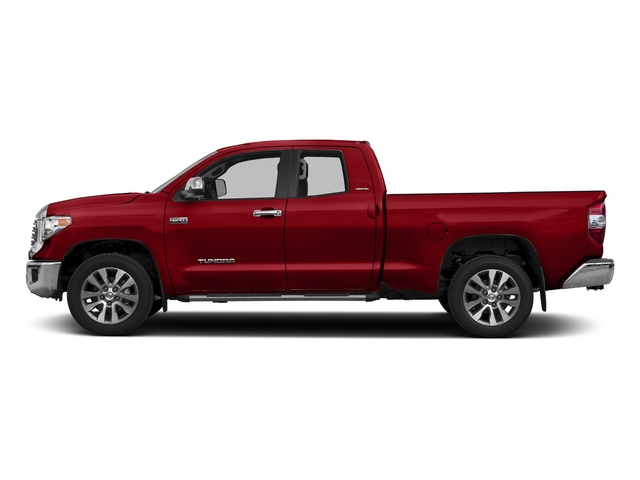 Barcelona Red Metallic 2017 Toyota Tundra 2WD Pictures Tundra 2WD Limited Double Cab 2WD photos side view