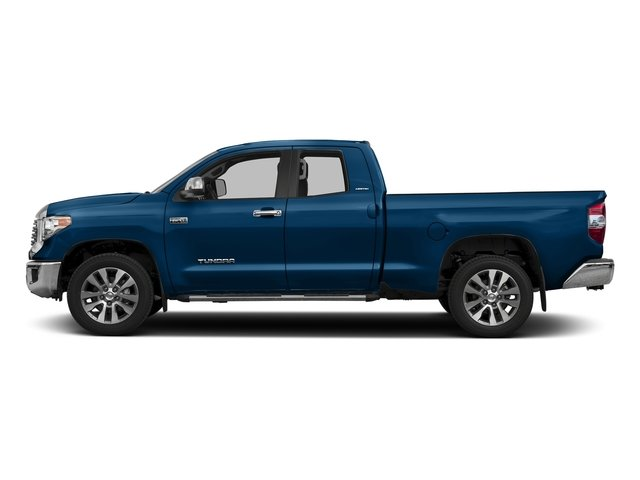 Blazing Blue Pearl 2017 Toyota Tundra 2WD Pictures Tundra 2WD Limited Double Cab 2WD photos side view