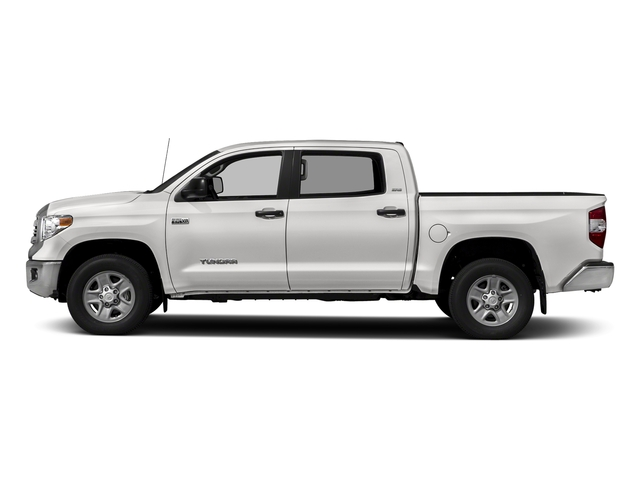 Super White 2017 Toyota Tundra 2WD Pictures Tundra 2WD SR5 CrewMax 2WD photos side view