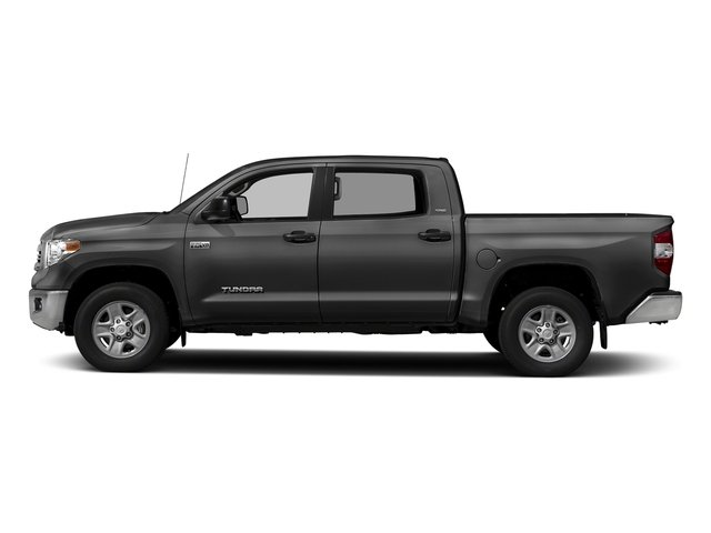 Magnetic Gray Metallic 2017 Toyota Tundra 2WD Pictures Tundra 2WD SR5 CrewMax 2WD photos side view