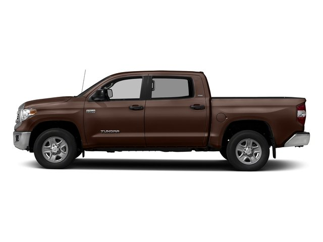 Sunset Bronze Mica 2017 Toyota Tundra 4WD Pictures Tundra 4WD SR5 CrewMax 4WD photos side view