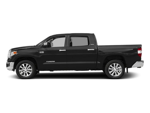 Magnetic Gray Metallic 2017 Toyota Tundra 4WD Pictures Tundra 4WD Limited CrewMax 4WD photos side view