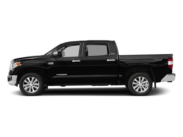Midnight Black Metallic 2017 Toyota Tundra 4WD Pictures Tundra 4WD Limited CrewMax 4WD photos side view