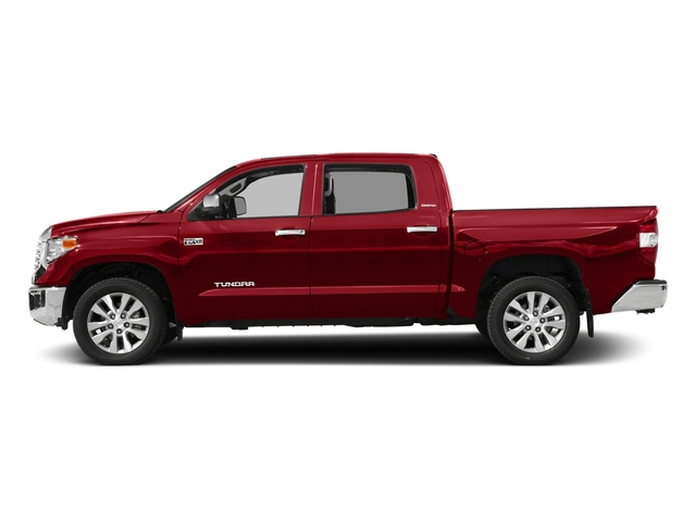 Barcelona Red Metallic 2017 Toyota Tundra 4WD Pictures Tundra 4WD Limited CrewMax 4WD photos side view