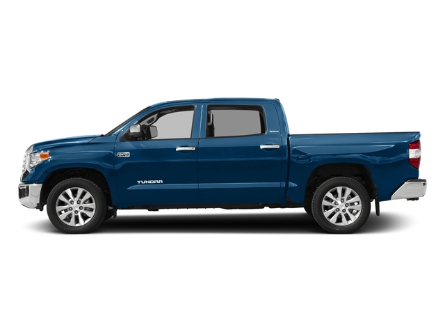 Blazing Blue Pearl 2017 Toyota Tundra 4WD Pictures Tundra 4WD Limited CrewMax 4WD photos side view