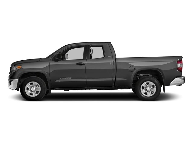 Magnetic Gray Metallic 2017 Toyota Tundra 2WD Pictures Tundra 2WD SR5 Double Cab 2WD photos side view