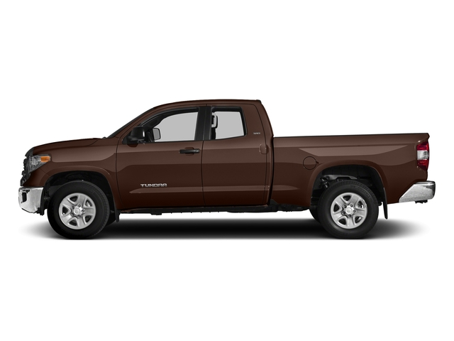 Sunset Bronze Mica 2017 Toyota Tundra 2WD Pictures Tundra 2WD SR5 Double Cab 2WD photos side view