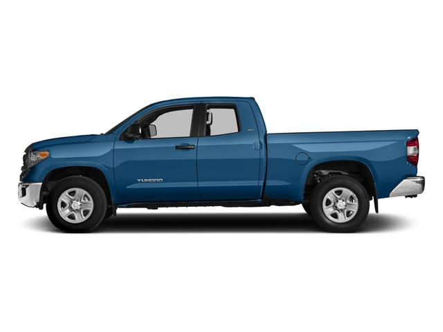 Blazing Blue Pearl 2017 Toyota Tundra 2WD Pictures Tundra 2WD SR5 Double Cab 2WD photos side view