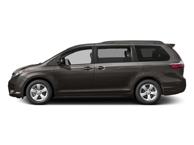 Predawn Gray Mica 2017 Toyota Sienna Pictures Sienna Wagon 5D LE AWD V6 photos side view