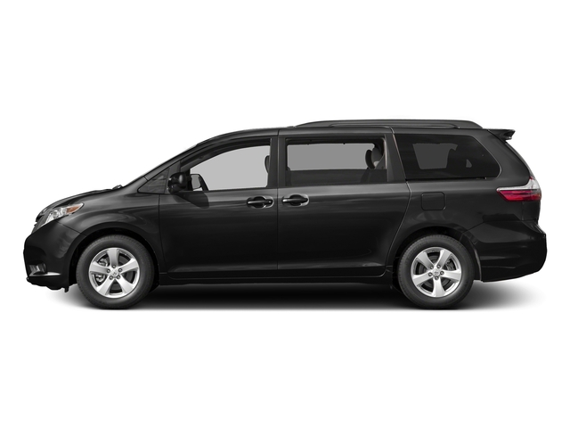 Midnight Black Metallic 2017 Toyota Sienna Pictures Sienna Wagon 5D LE AWD V6 photos side view