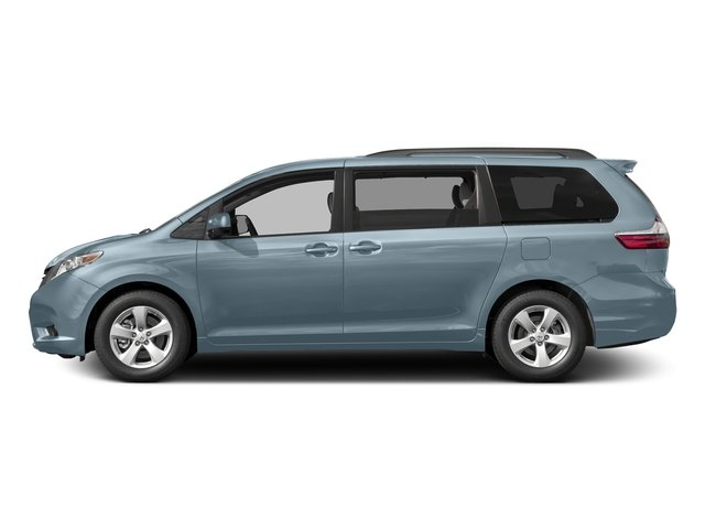 Sky Blue Pearl 2017 Toyota Sienna Pictures Sienna Wagon 5D LE AWD V6 photos side view