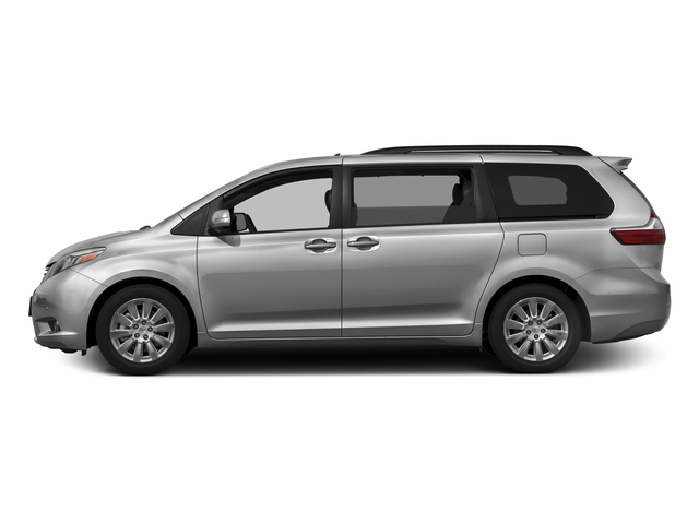 Silver Sky Metallic 2017 Toyota Sienna Pictures Sienna Wagon 5D XLE V6 photos side view