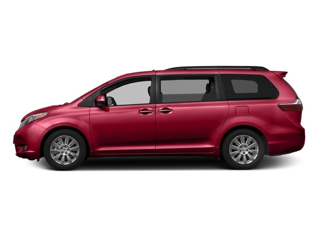 Salsa Red Pearl 2017 Toyota Sienna Pictures Sienna Wagon 5D XLE V6 photos side view