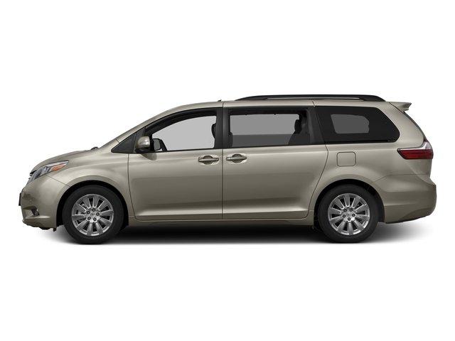 Creme Brulee Mica 2017 Toyota Sienna Pictures Sienna Wagon 5D XLE V6 photos side view