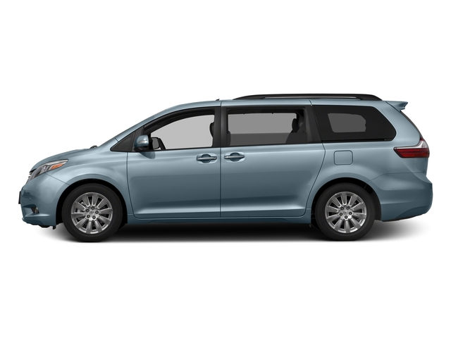 Sky Blue Pearl 2017 Toyota Sienna Pictures Sienna Wagon 5D XLE V6 photos side view