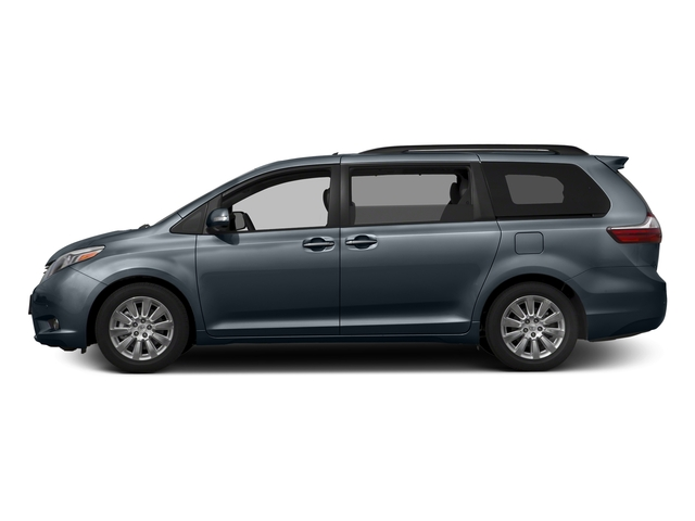 Shoreline Blue Pearl 2017 Toyota Sienna Pictures Sienna Wagon 5D XLE V6 photos side view
