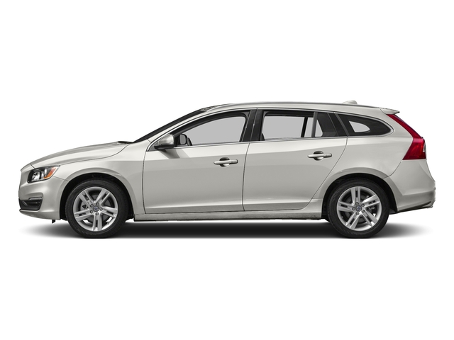 Crystal White Pearl 2017 Volvo V60 Pictures V60 Wagon 4D T5 Platinum AWD Turbo photos side view
