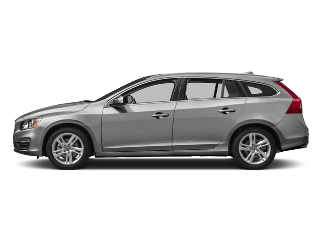 Bright Silver Metallic 2017 Volvo V60 Pictures V60 Wagon 4D T5 Platinum AWD Turbo photos side view