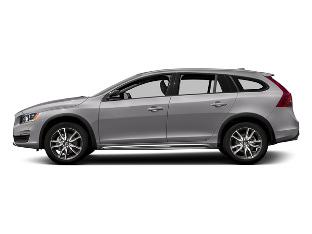 Bright Silver Metallic 2017 Volvo V60 Cross Country Pictures V60 Cross Country Wagon 5D T5 Platinum AWD I4 Turbo photos side view