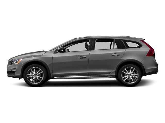 Osmium Grey Metallic 2017 Volvo V60 Cross Country Pictures V60 Cross Country Wagon 5D T5 Platinum AWD I4 Turbo photos side view