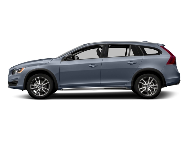 Mussel Blue Metallic 2017 Volvo V60 Cross Country Pictures V60 Cross Country Wagon 5D T5 Platinum AWD I4 Turbo photos side view
