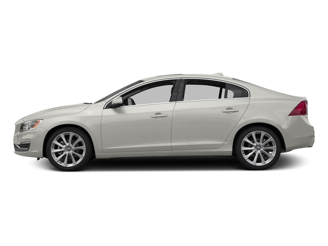 Crystal White Pearl 2017 Volvo S60 Pictures S60 Sedan 4D Insciption T5 Platinum AWD photos side view