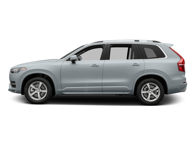 Ice White 2017 Volvo XC90 Pictures XC90 Util 4D T5 Momentum AWD I4 Turbo photos side view