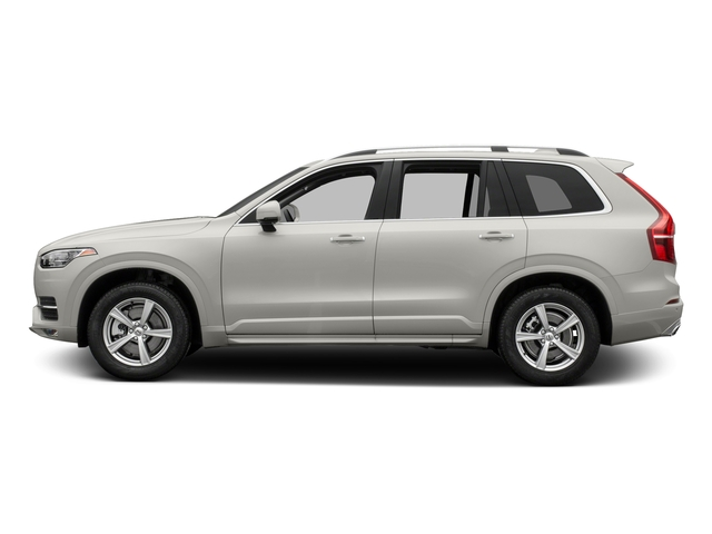 Crystal White Pearl Metallic 2017 Volvo XC90 Pictures XC90 Util 4D T5 Momentum AWD I4 Turbo photos side view