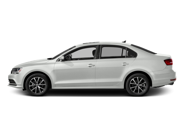Pure White 2017 Volkswagen Jetta Pictures Jetta 1.4T S Auto photos side view