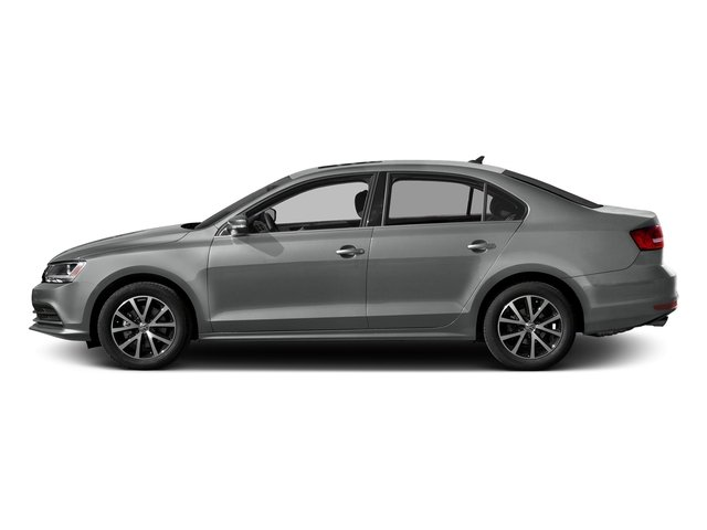 Platinum Gray Metallic 2017 Volkswagen Jetta Pictures Jetta 1.8T Sport Auto photos side view