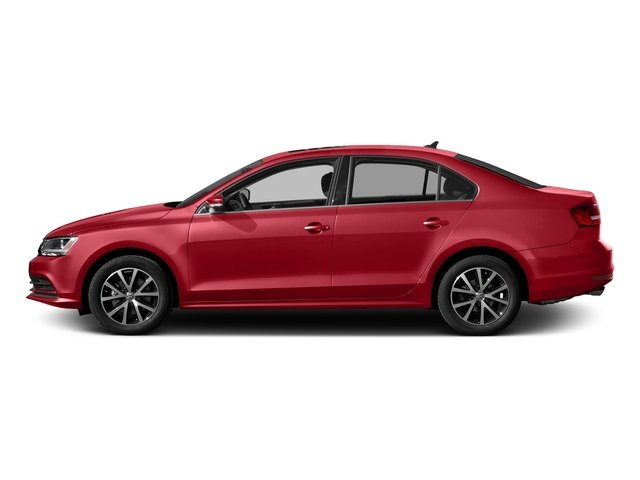 Cardinal Red Metallic 2017 Volkswagen Jetta Pictures Jetta 1.4T S Auto photos side view