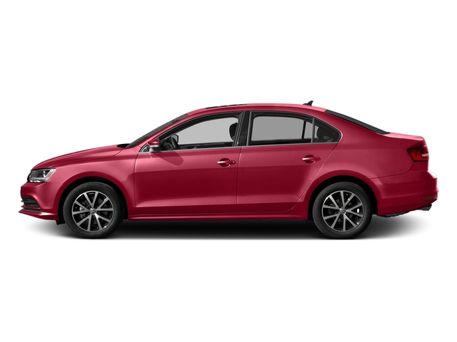 Tornado Red 2017 Volkswagen Jetta Pictures Jetta 1.8T Sport Auto photos side view