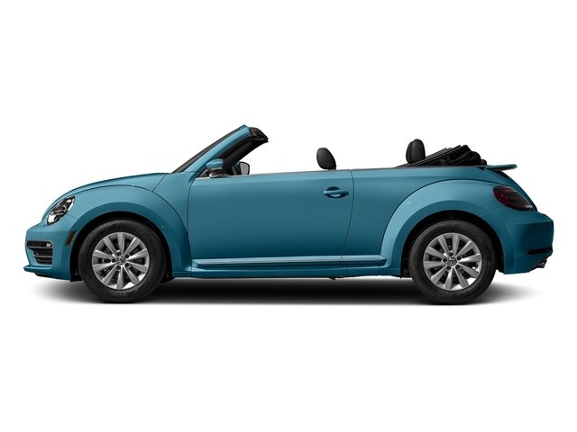 Silk Blue Metallic/Black Roof 2017 Volkswagen Beetle Convertible Pictures Beetle Convertible 1.8T Classic Auto photos side view