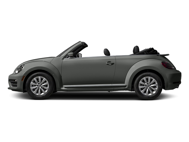 Platinum Gray Metallic/Black Roof 2017 Volkswagen Beetle Convertible Pictures Beetle Convertible 1.8T Classic Auto photos side view
